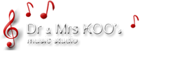 Dr & Mrs KOO's music studio